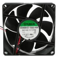 Sunon EE80251S1-000U-A99 Ventilatore 80X80x25 12VDC su Bronzina