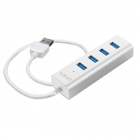 Lindy 43152 Hub USB 3.0 4 porte per Notebook