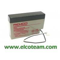 Batteria ermetica al piombo 12V 0,8Ah REMCO