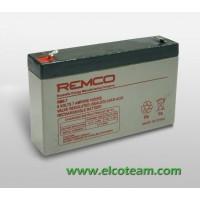 Batteria ermetica al piombo 6V 7Ah
