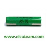 Batteria 7/5 AF 4.0Ah Ni-Mh lamella a saldare