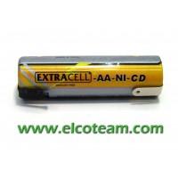 Batteria stilo AA 900 mAh Ni-Cd lamelle a saldare