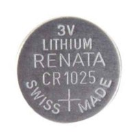 Renata CR1025 Batteria a Bottone Litio 3 Volt