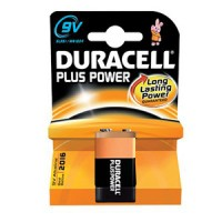 Pila DURACELL PLUS POWER 9V 6LR61 MN1604