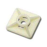 Supporto Adesivo per Fascette 27 x 27 mm Confezione 100 pezzi Elematic 5473 RBE
