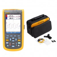Fluke 124B/S Oscilloscopio Industriale ScopeMeter 40MHz con Custodia e Software