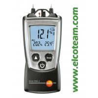 Igrometro ambientale e per umidità nei materiali Testo 606-2