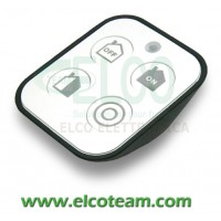 Telecomando Radio 4 canali Nice HSTX4 per sistemi Nice HomeSystem - Vista fronte