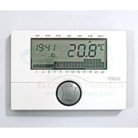 Cronotermostato Touchscreen Finder Bianco Perla