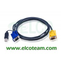 ATEN 2L-5206UP Cavo 2m per KVM USB