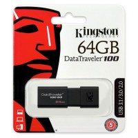 Kingston DT100G3/64GB Pen drive USB 3.1 da 64GB