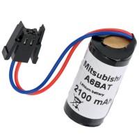 Batteria per PLC Mitsubishi A6BAT ER17330V 2/3AA con cavetto connettorizzato
