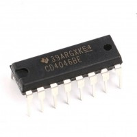Texas Instruments CD4046BE Circuito Integrato CMOS