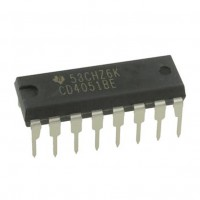 Texas Instruments CD4051BE Circuito Integrato Multiplexer/Demultiplexer 8 canali