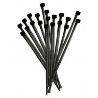 Fascette Professionali in Poliammide 140x3,55 mm Elematic 5309/CE