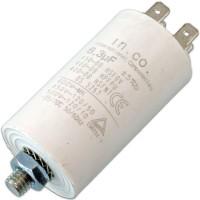 Condensatore per Avviamento Motori 6,3uF 450VAC IN.CO.