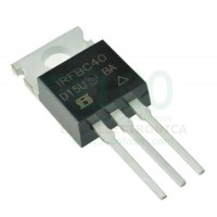 IRFBC40 Transistor Power MOSFET Canale N 6,2A 600V 1,2 Ohm