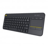 Logitech K400 Plus Wireless Touch Keyboard per Smart TV e HTPC