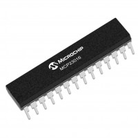 MCP23016-I/SP Expander I/O 16bit 400 kHz I2C, DIP Microchip