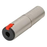 Neutrik NA3MJ Adattatore Spina XLR - Presa jack 6,3mm Stereo