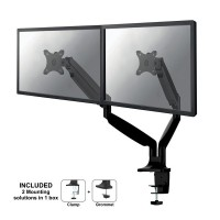 Supporto da scrivania per doppio monitor NewStar NM-D750DBLACK