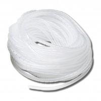 Guaina Spiralata Ø 9÷50 mm, Bianco, Matassa 25 metri Elematic SP9