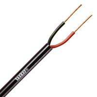 Cavo Audio Flessibile 2x1,50 mm² Nero Tasker C275