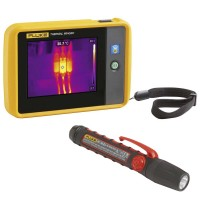 Fluke PTi120/FL45 Termocamera Tascabile con Torcia a LED ATEX
