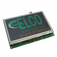 "Modulo Programmabile con Display LCD Touch Screen 4,3"" 480x272 punti, Bus Seriale, USB, SPI, I2C e I/O analogici e PWM"