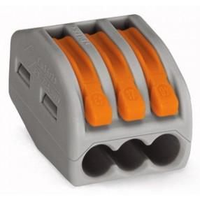 Wago 222-413 Morsetto di Giunzione per 3 conduttori