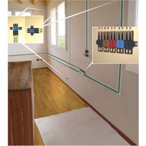 Connetti il nastro al tuo impianto attraverso i connettori NEXT.