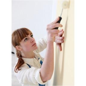 Ricopri infine NEXT con dello stucco o un rivestimento come carta da parati oppure semplice tinteggiatura.