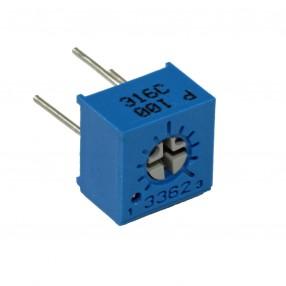 Bourns 3362P-1-100 Trimmer Cermet 10 Ohm