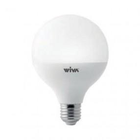 Lampada Led globo opale 15W attacco E27 3000K Wiva 12100070