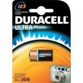 Pila DURACELL Photo tipo 123