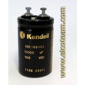 Condensatore elettrolitico Kendeil 10.000µF 100VDC