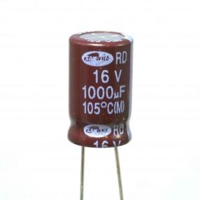Condensatore Elettrolitico 1000uF 16V 105°C Samwha 10x16