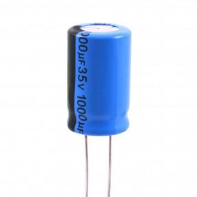 Condensatore Elettrolitico 1000uF 35 Volt 85°C Lelon 13x20