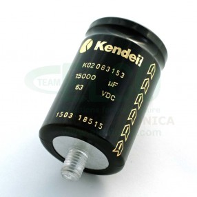 Condensatore elettrolitico Kendeil 15.000µF 63VDC