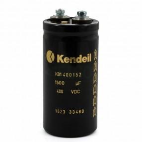 Condensatore elettrolitico Kendeil 1.500µF 400VDC K01 400152