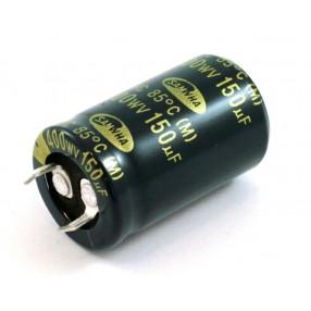Condensatore elttrolitico Samwha 150uF 400V