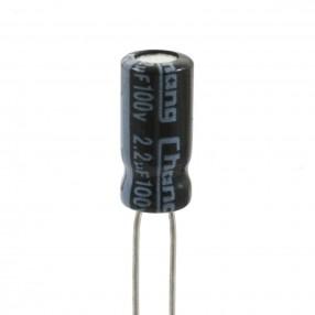 Chang GR2A2R2MC110B25CVS Condensatore Elettrolitico 2,2uF 100 Volt 85°C Chang 5x11 Nastrato