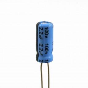 Condensatore Elettrolitico 2,2uF 100 Volt 85°C Jianghai 5x11 Nastrato