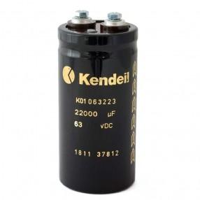 Condensatore elettrolitico Kendeil 22.000µF 63VDC 50x105