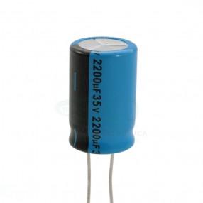 Lelon REA222M1VBK-1625P Condensatore elettrolitico 2200µF 35V 85°C