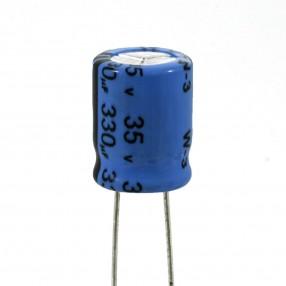 Condensatore Elettrolitico 330uF 35V 85°C Jianghai