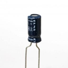 Condensatore Elettrolitico 33uF 16V 85°C ELNA  5x11