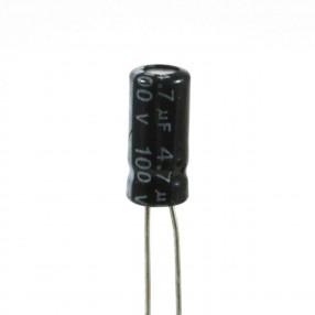 Condensatore Elettrolitico 22uF 63 Volt 105°C JWCO 6,3x12 mm Nastrato