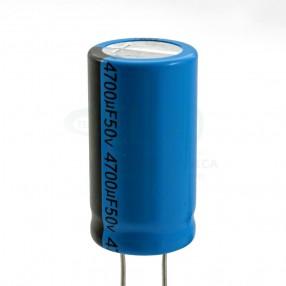 Lelon REA472M1HBK-2240P Condensatore elettrolitico in alluminio 4.700uF 50 Volt 85°C
