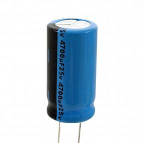 Condensatore elettrolitico Lelon 4700µF 25V 85°C
